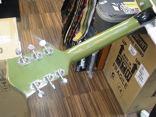 エレキギター修理 オーバーホール Gretsch フルアコ 1