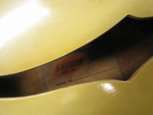 エレキギター修理 オーバーホール Gretsch フルアコ 3