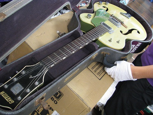エレキギター修理 オーバーホール Gretsch フルアコ 5