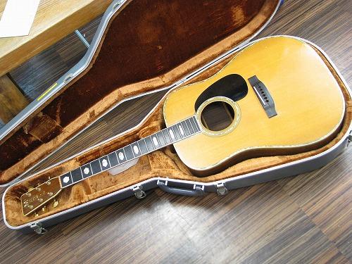 フォークギター 修理 MARTIN D-45 ブリッジ割れ 2
