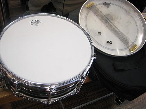 スネアドラム 修理 Ludwig(ラディック) メタルスネア 6
