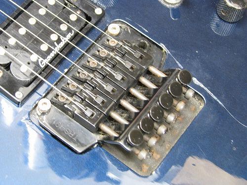 エレキギター修理 トラスロッド調整他 グローバージャクソン with フロイドローズ 4