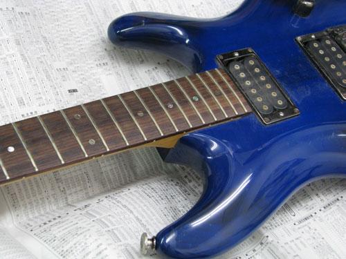 エレキギター修理 アイバニーズ 配線修正・全体調整・クリーニング等 2