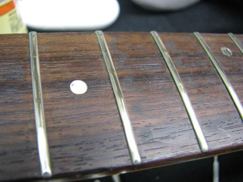 エレキギター修理 アイバニーズ 配線修正・全体調整・クリーニング等 4
