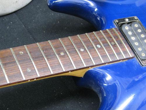 エレキギター修理 アイバニーズ 配線修正・全体調整・クリーニング等 5