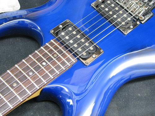 エレキギター修理 アイバニーズ 配線修正・全体調整・クリーニング等 8