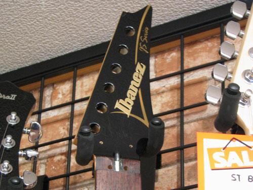 エレキギター修理 アイバニーズ 配線修正・全体調整・クリーニング等 9
